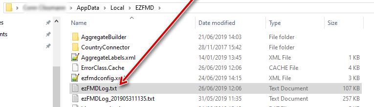 ezFMDlog.txt in list of files